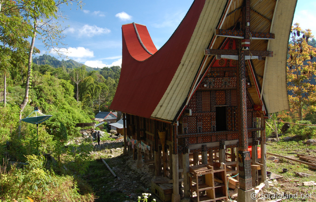 Toraja Tongkonan House in Sillanan Village